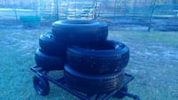 Tires x 5, general grabbers, truck/suv Gloucester, 28528