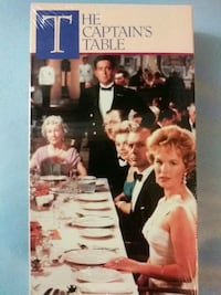 The Captains Table vhs (New) Glen Burnie