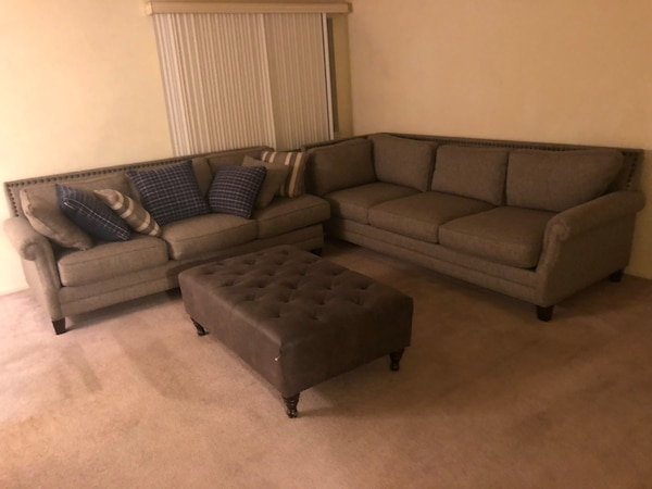 Used Couch Ottoman Living Room Set For Sale In San Jose Letgo