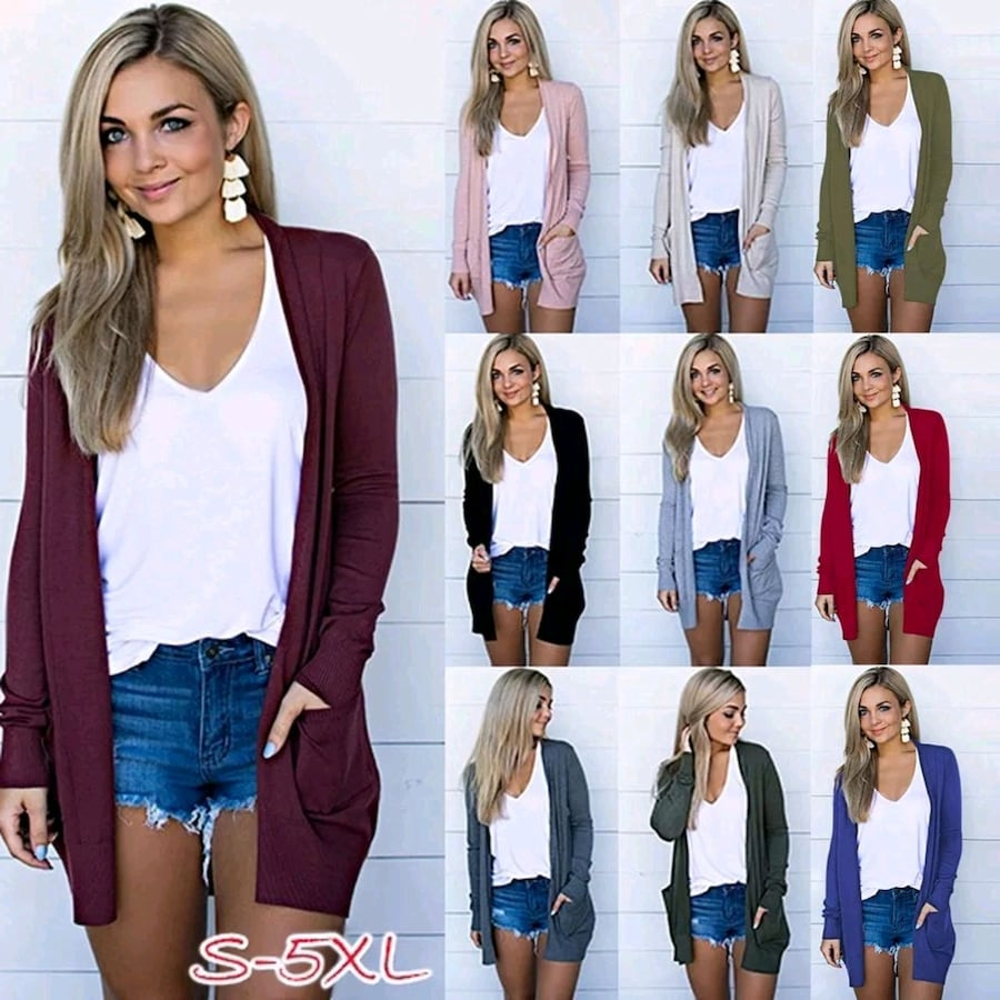 Womens cardigans. Shipped brand new