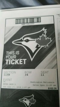 Jays vs Yankees Toronto, M3J 1Y3