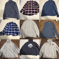 Authentic Roots Sweaters Double XL  $60 Each Toronto, M2R 3B1