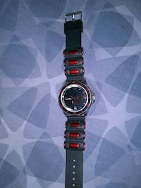 Legend of zelda black and red wrist watch only pro