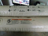 white and gray bed mattress Peachtree City, 30269