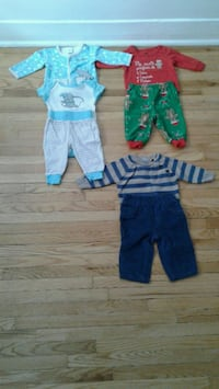 toddler's blue and green onesie Montréal, H3T 1Y4