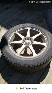 G35/G37 winter rims and tires (4)