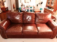 Leather Couch London, N6J