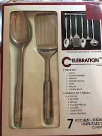 All stainless Kitchen cooking utensil set Toronto, M4C 4W7