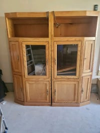 Cabinet and glass table