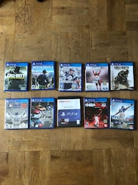 PS4 video games Bowling Green, 43402