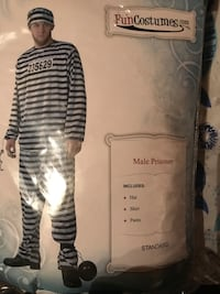 Halloweens Men's Jail Costume Brocton, 14716