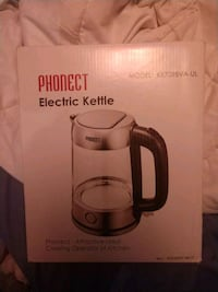 Phonect electric kettle new in box Boston, 02124
