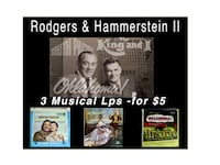 3 Rodgers & Hammerstein II Musical Lps - $5 Mark as sold Bethesda, MD, USA