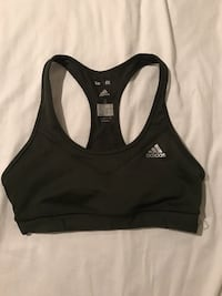 Adidas dark green size s sports bra VANCOUVER