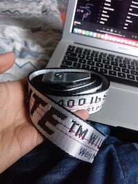 Off white Silver belt (replica) Skedsmo, 2013