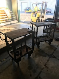 Welding tables and table jack