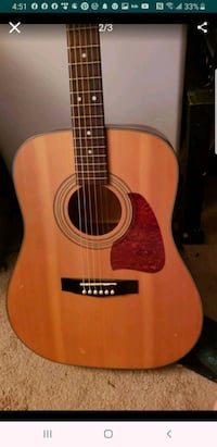Hanez acoustic guitar