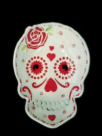 Day of the Dead handmade pottery bowl Gallatin, 37066