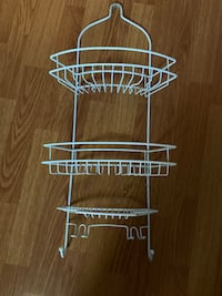Shower rack great condition $5
