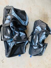 "Two 29"" rolling duffle bags"