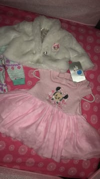 0-3 month baby girl lot NWT 290 mi