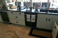 white and black wooden sideboard Pompano Beach, 33060