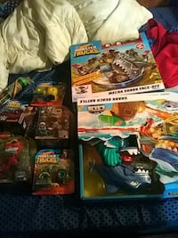 Toys monster truck track shark city track and more Berkeley Springs, 25411