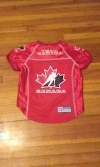 Officially Licensed Team Canada Hockey Dog Jerseys New.Premium Quality Windsor