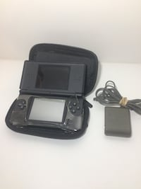 black Nintendo DS with case Kitchener, N2E 3P6
