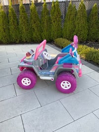 Barbie Power Wheels Jeep.