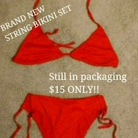 Pink blue and red string bikini sets 10 Edmonton, T5N 1N5