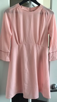 Full-sleeve Pink Babydoll Dress Mississauga, L5B