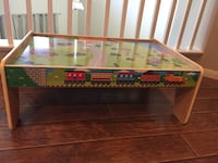 Wooden Train Table with tracks Las Vegas, 89123