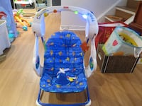 Rocking Musical Infant Chair with Lights 716 km