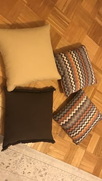 New couch pillows