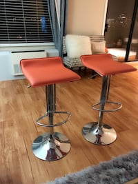Orange Bar Stools (2) Alexandria, 22303