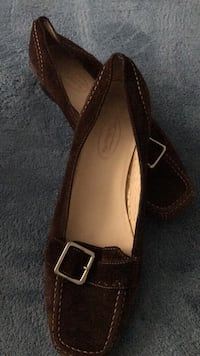 Talbots Suede English Buckle Loafer Bakersfield, 93312