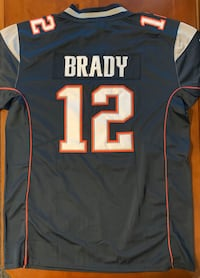 Tom Brady, New England Patriots Jersey, Nike Men's Large
