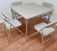 Foldable table and 4 chairs Woodbridge, 22193