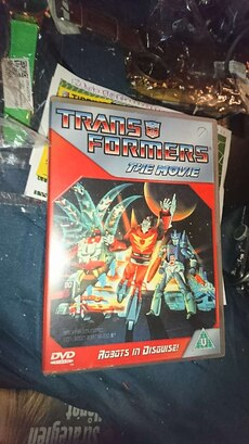 Transformers the movie fra 1986 på dvd
