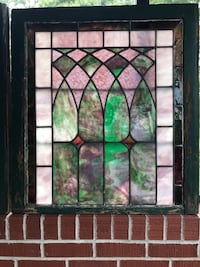 Very nice old stained glass windows  Plum, 15239