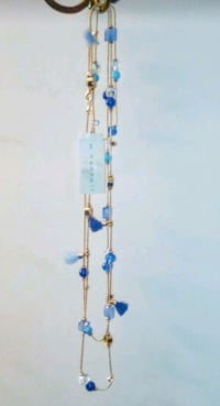 Gold Plated &Turquoise Stone Layered Necklace Fair Oaks, 95628