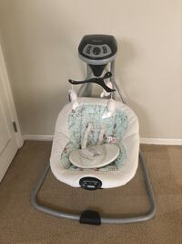 baby's white and gray Graco cradle n swing Dover, 19904
