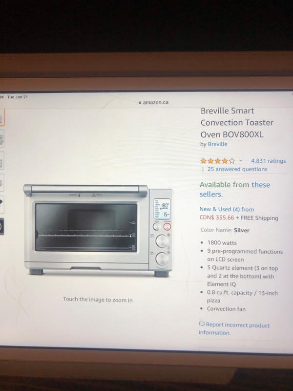 Breville convection smart oven 5