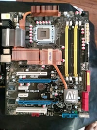 Asus mobo P5E Deluxe X48 chipset