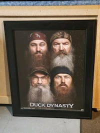 Framed Duck Dynasty hanging picture