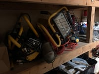 Tools and chairs for sale Montréal, H9H 1B3