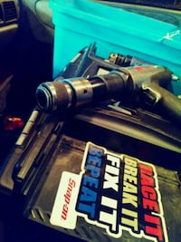 Air compressed hand drill