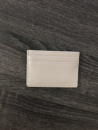 Genuine leather taupe card holder with 4 card pockets and one cash pocket Woodbridge, 22192