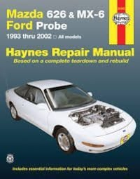 Haynes Manuel for ford probe, mx6 and mazda 6